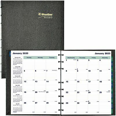 Blueline Miraclebind Coilpro 17-month Planner 9-116 X 11 Black 2019 - 2020