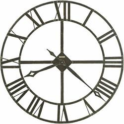 Howard Miller Lacy II Wall Clock 625-423 – Modern & Round with Quartz Movement
