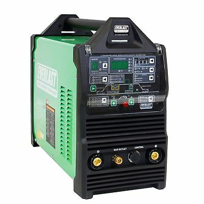 Powertig 255ext Gtaw-p 250a Acdc Tig Arc Advanced Pulse Welder Nova By Everlast