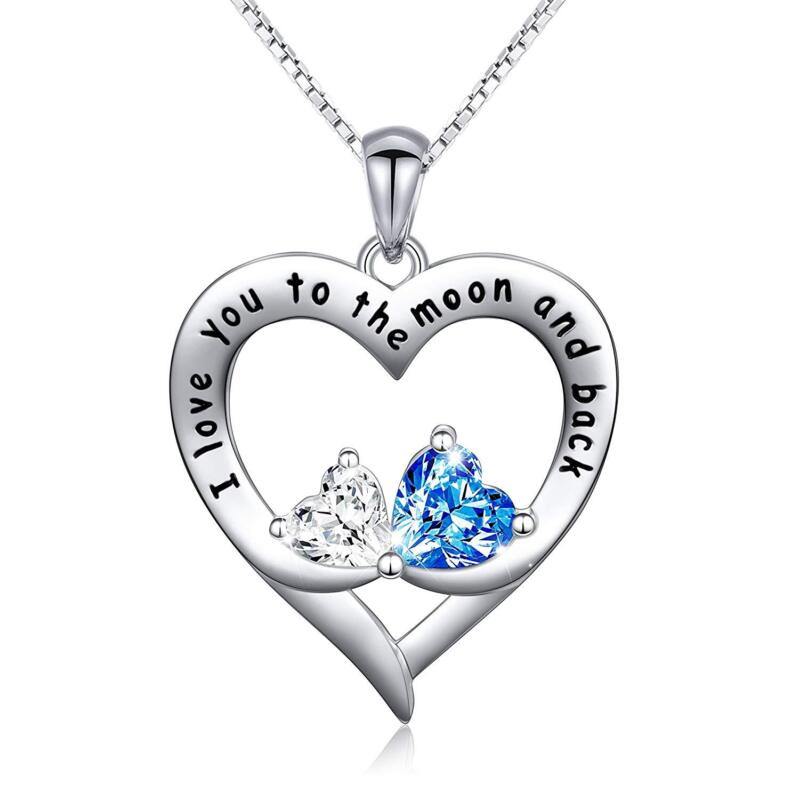 DOUBLE LOVE HEART NECKLACE