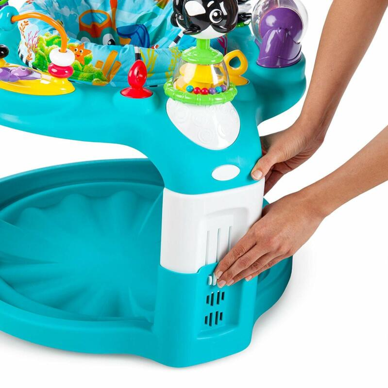 Baby Einstein 2-in-1 Lights and Sea Activity Gym and Saucer