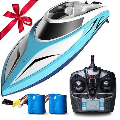 NEW Remote Control Pool & Lake Fast RC Boat Adults Kids Remote Control Fun Toy