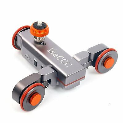 Motorized Electric Track Slider Dolly Car Video Pulley Rolling Skater US Ship