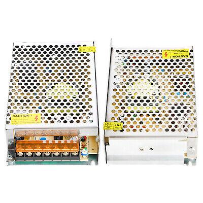 2x Ac 110-220v To Dc 12v 10a 120w Volt Transformer Switch Power Supply Converter