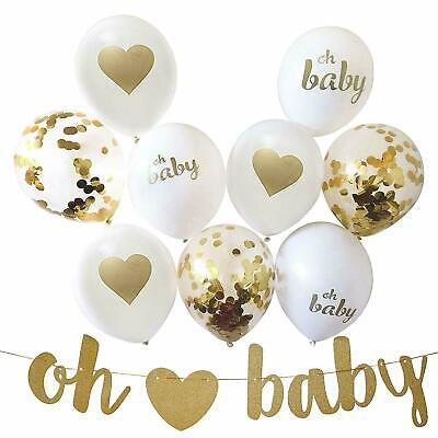 Gender Reveal Party Decorations for Gender Neutral Baby Shower, 13 Piece Set  - Gender Neutral Baby Shower Decorations