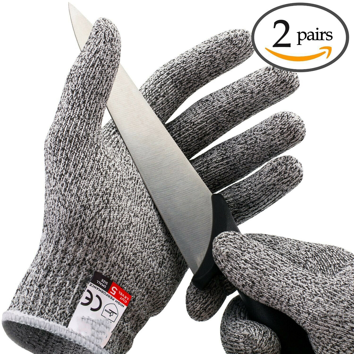 2pairs butcher glove cut proof stab resistant