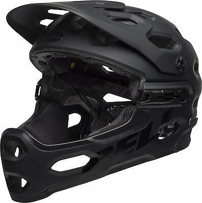 Bell Super 3R Mips Matte Black Mountain Bike Helmet Size Medium