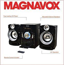 Magnavox MM440 3-Piece CD Shelf System with Digital PLL FM Stereo Radio