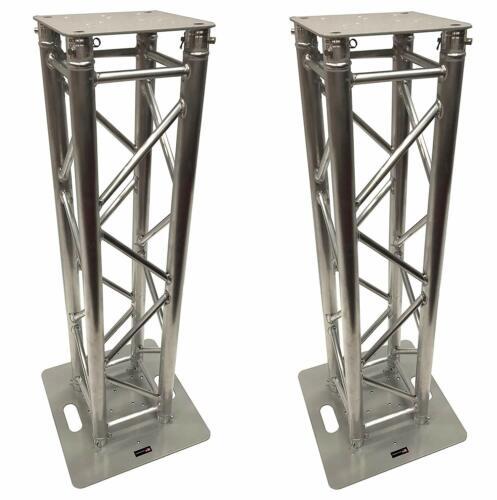 (2)DJ Lighting Aluminum Truss Light Weight Dual 4.92 ft Totem System Moving Head