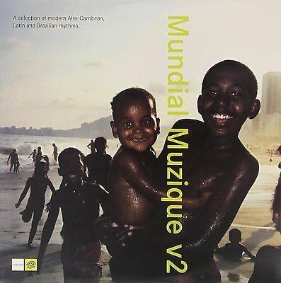 MUNDIAL MUZIQUE Musique V2 Brazil Afro Electro 3LP Vinyl World Music * RARE