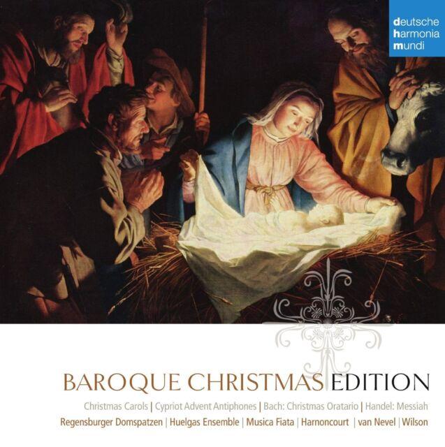 BAROQUE CHRISTMAS EDITION 10 CD BOX-SET NEU