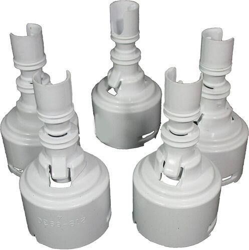 "Waterway Spa Mini Storm Jet 5 Pack Diffuser 3"" - 3 5/16"" Hot Tub Jet Diffuser"