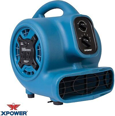 Utility Blower Fan 3 Speed Mini Air Mover Floor Dryer Old