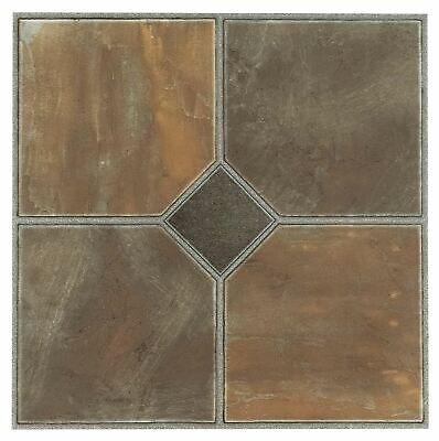 Vinyl Flooring Tiles 20 Pack Peel And Stick Self Adhesive Bathroom Kitchen New