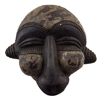 Mask Diminutive African Passport Miniature Terracotta Divination 6469 Q1