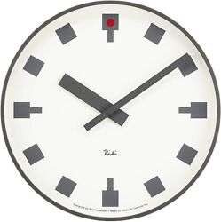 Lemnos Hibiya Tokyo Wall Clock Japan WR12-03 From JAPAN DHL