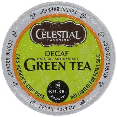Celestial Seasonings Decaf Green Tea, K-Cup Portion Pack for