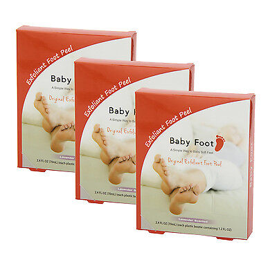 Baby Foot Lavender Easy Pack Exfoliant Foot Peel (Pack of 3), used for sale  Shipping to India