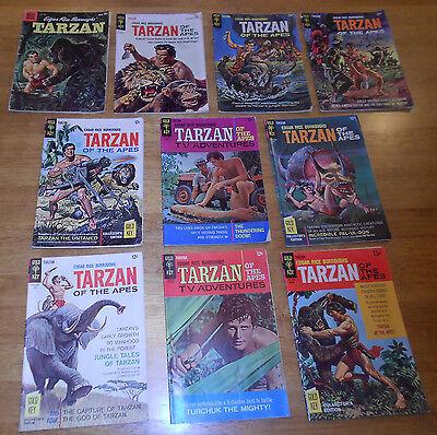 TARZAN OF THE APES 10 BK LOT #116,139,150,151,163,165,167,169,171,178 Gold Key+1