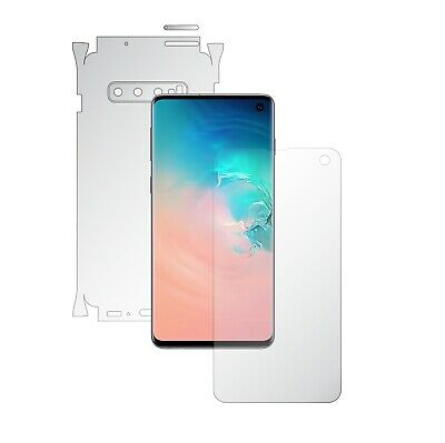 Samsung S10,1+1FREE,Screen Protector,Back Case Skin,Full Body 360 Clear Wrap 10.1 Screen Protector