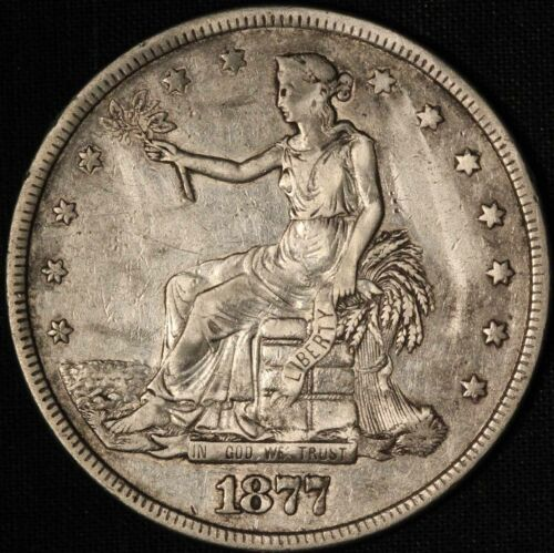 1877-P Trade Silver Dollar - Free Shipping USA