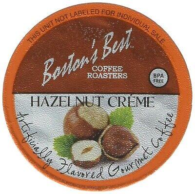 Boston's Best Coffee Roasters, Single Serve K-Cup Coffee, Hazelnut Creme, 42