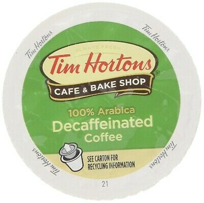 Tim Hortons DECAF Single Serve Coffee 48 Count - Packaging May Vary Count Single Serve Packages