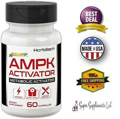 AMPK METABOLIC ACTIVATOR 450mg 60 Capsule Weight Management Jiaogulan Gynostemma 450 Mg 60 Capsules
