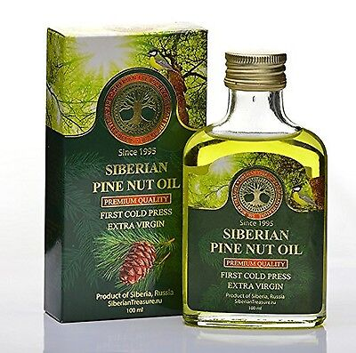 Siberian Pine Nut Oil 100 Ml Premium Quality Extra Virgin First Cold Press - ...