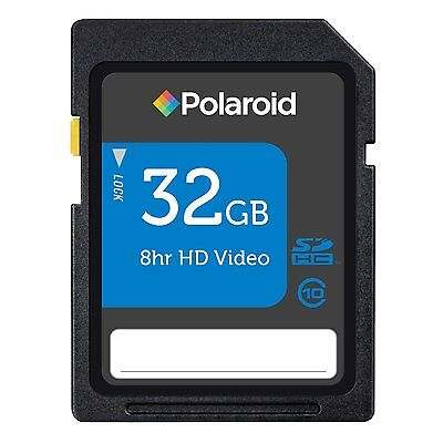 Pol 32g Class 10 Sd Card For Sony Alpha A390 A55v A580 Slt A33 A55 Slr Camera
