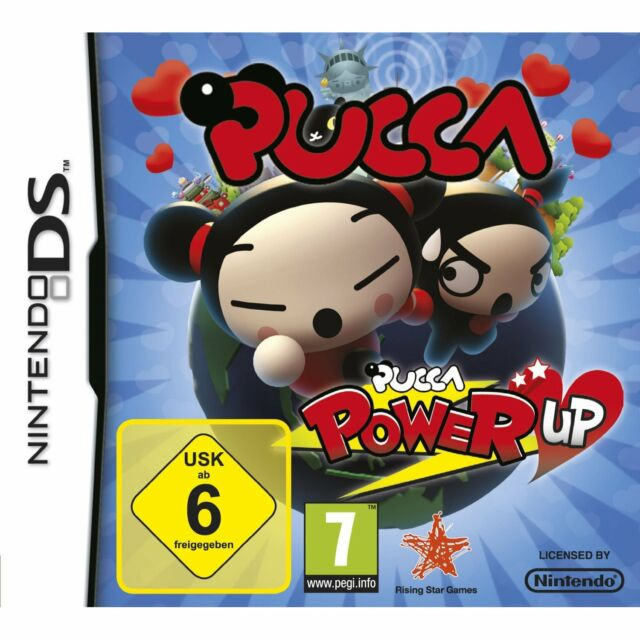 Nintendo DS Pucca Power Up Jump n Run Episodenspiele Manga Serie Mehrsprachig