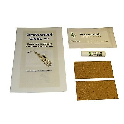 Saxophone Neck Cork, Synthetic, 2 Pack, All Saxes