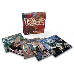 10CC/TEN CC-ORIGINAL SOUNDTRACK/HOW DARE YOU/DECEPTIVE BENDS/BLOODY TOURISTS 6CD