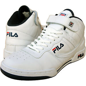 FILA-F-13-LTH-HI-TOP-RETRO-LEATHER-TRAINERS-basketball-boots-UK-6-8-FREE-P-P