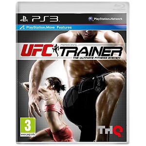 Playstation 3 * UFC PERSONAL TRAINER PS3 Move Game * NEW * No Leg Strap *