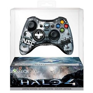 Official Halo 4 LIMITED EDITION Genuine XBOX 360 Wireless Controller NEW AUSPOST