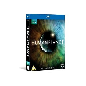 BBC Earth - Human Planet The Complete Series Blu-ray Boxset Boxed Set New Reg B