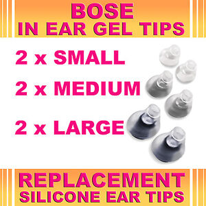 6x-Replacement-S-M-L-Ear-Gel-Tips-for-Bose-Triport-Earphone-Earbud-In-Ear-Canal