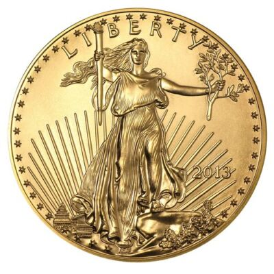 2013 1 oz Gold American Eagle Coin - Brilliant Uncirculated - SKU #71271