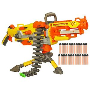 NERF N-Strike Vulcan EBF-25 Full-Auto Dart Blaster  *Damaged Box*