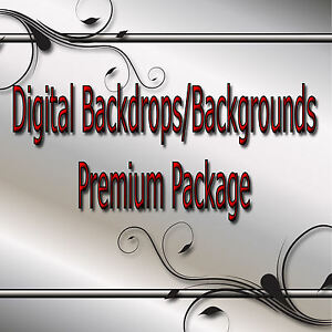 Digital Backdrops/Backgrounds -Premium Package seniors family