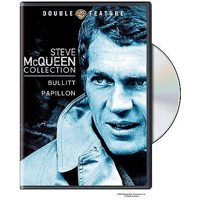 Bullitt & Papillion Steve Mcqueen Double Feature Dvd