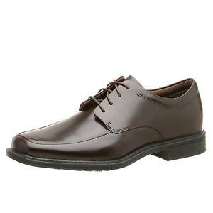 new mens rockport dress shoes brown evander waterproof