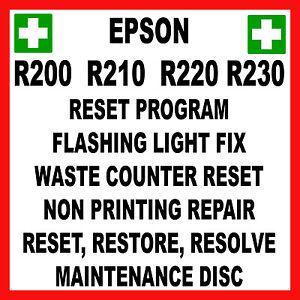 epson stylus photo r200 r210 r220 r230 service reset epson stylus photo r200 repair manual Epson RX600