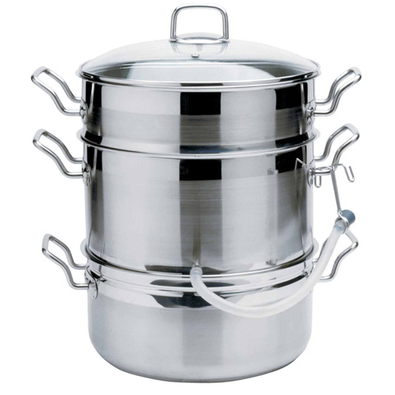 Norpro 624 Krona 11qt 18/10 Stainless Steel Steamer Juicer Cooker on Sale
