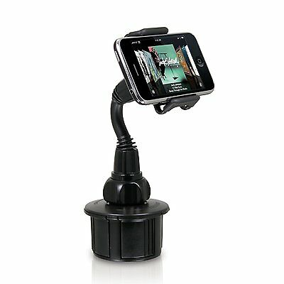 Macally Cup Holder Mount For Pantech Breakout Casio Commando Palm Pre 2 Phone