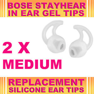 2x-Silicone-Replacement-Medium-Ear-Gel-Tips-for-Bose-StayHear-Earphone-Headphone