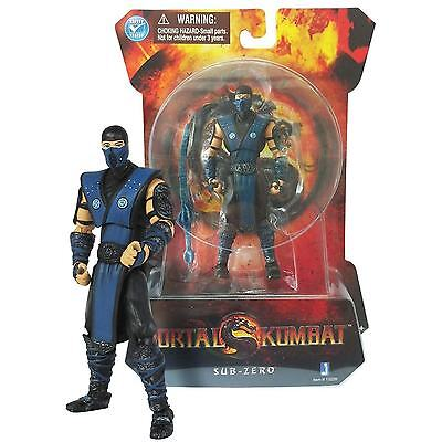 "Mortal Kombat Sub Zero New 4"" Action Figure! on Rummage"