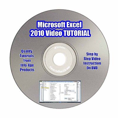 Learn Microsoft Excel 2010/2007 Quickly & Easily! VIDEO TUTORIAL - Part 1 on Rummage