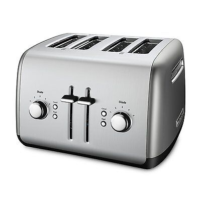 KitchenAid RKMT4115CU Gleaming Contour with Stainless Steel 4-Slice Toaster